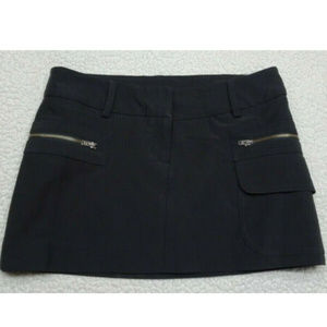 Guess Collection Black Size 2 Mini Skirt
